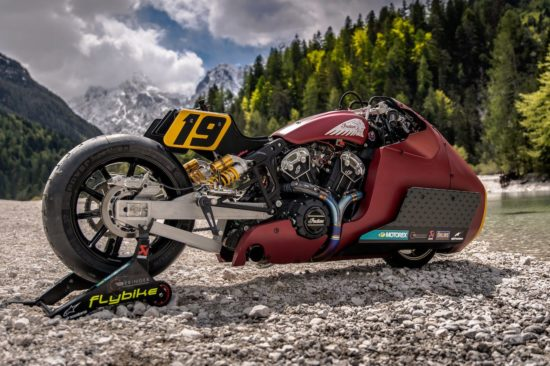 Indian Motorcycle Scout Bobber Appaloosa v2