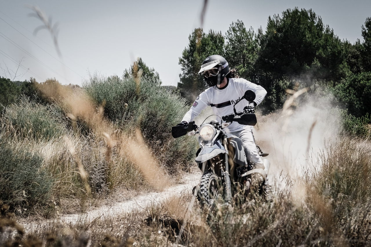Fuel Rally Raid rider on the trails