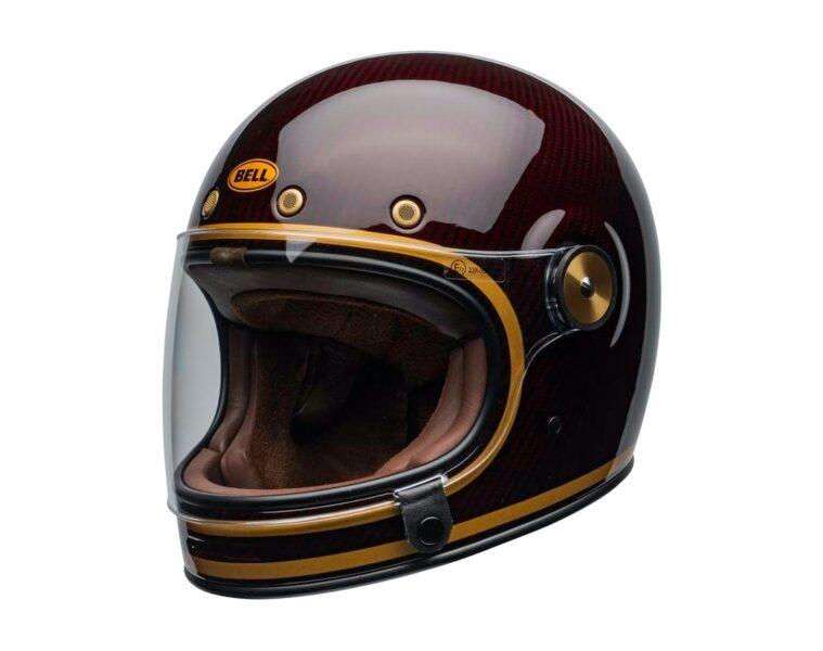 Bell Bullitt Helmet Transcend Gloss Carbon Candy Red Gold