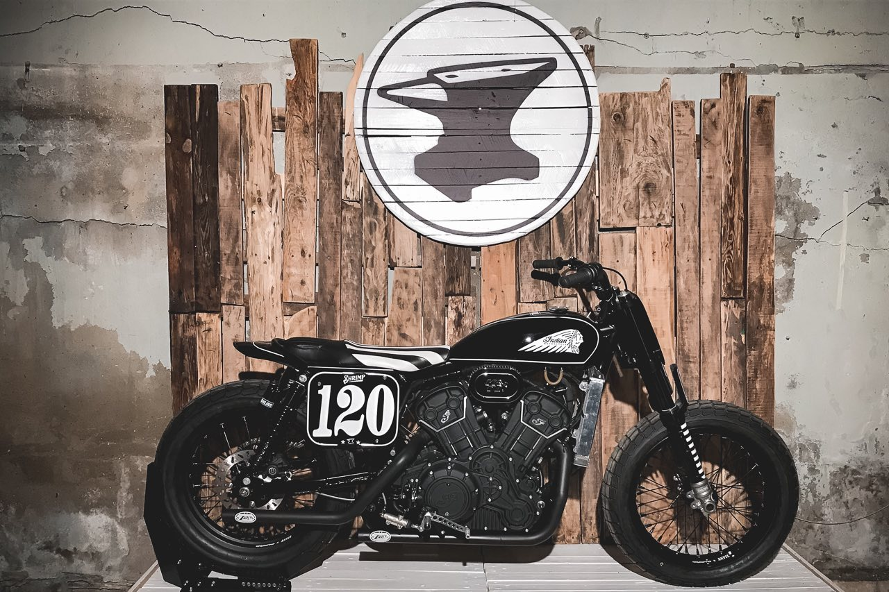 Indian Motorcycle Scout Sixty Tracker by Anvil Motociclette