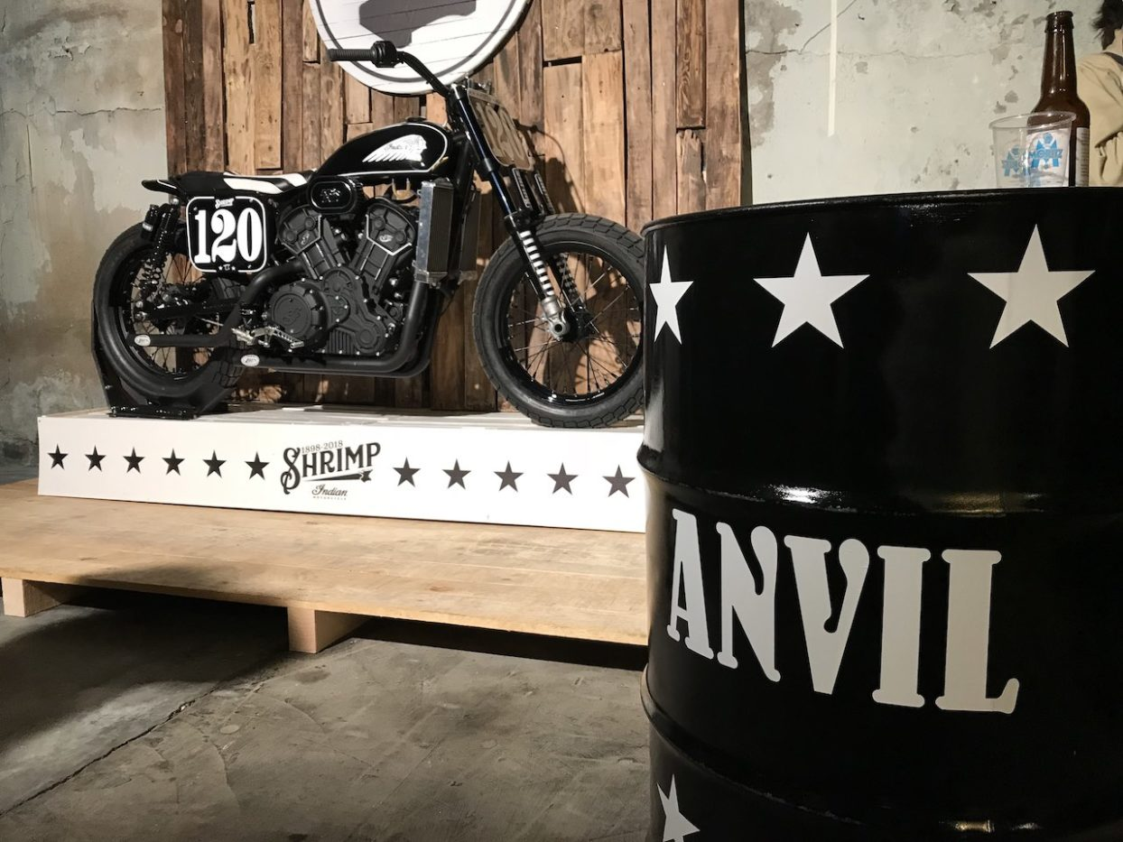 Indian Motorcycle Scout Sixty Tracker by Anvil 3