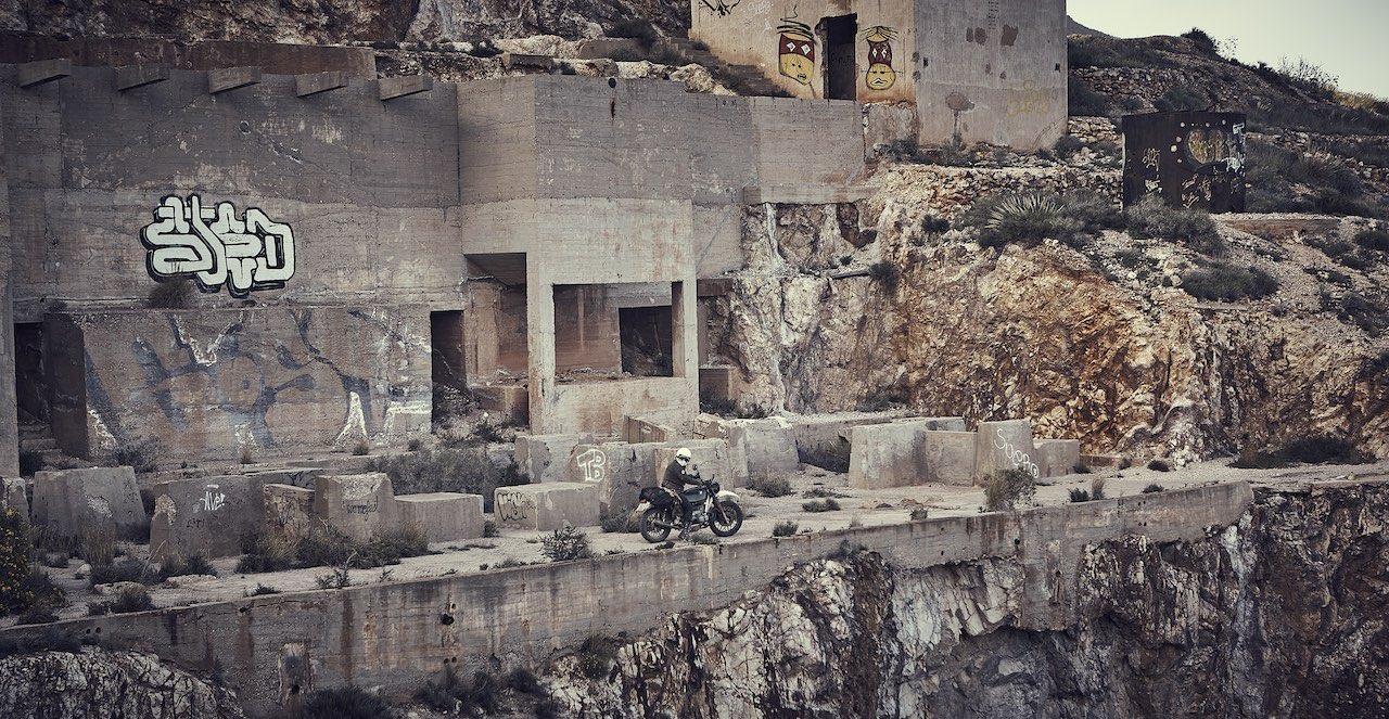 Rodalquilar Almeria Mines Spain - El Gringo Tour Staurt Hamilton