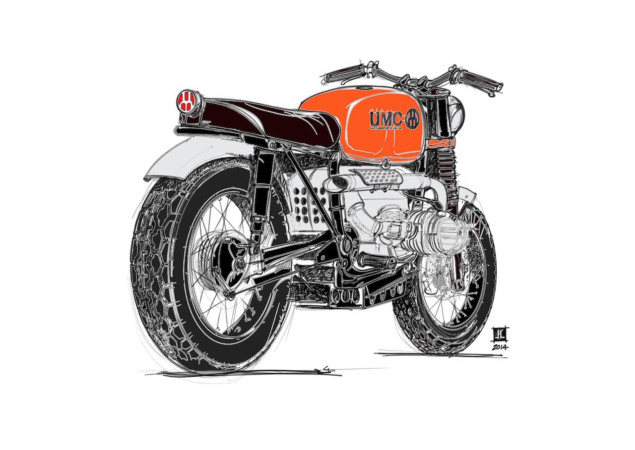 UMC-002 BMW Sketch - Original Sketch by Jeremy Lacy [Edits by RENCHLIST]