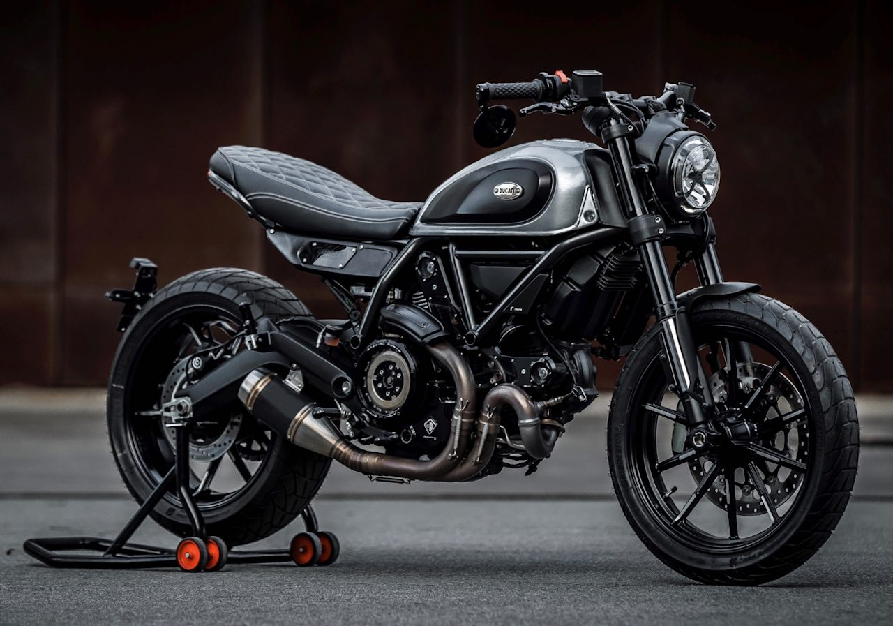 Ducati Scrambler Custom Outsider by Nick Tansley