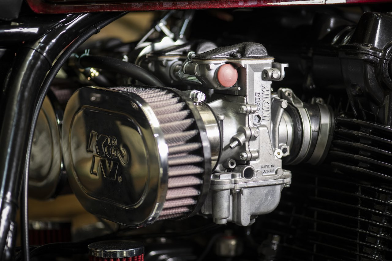 Fastec Racing Honda CB750 Cafe Racer MCM_7775