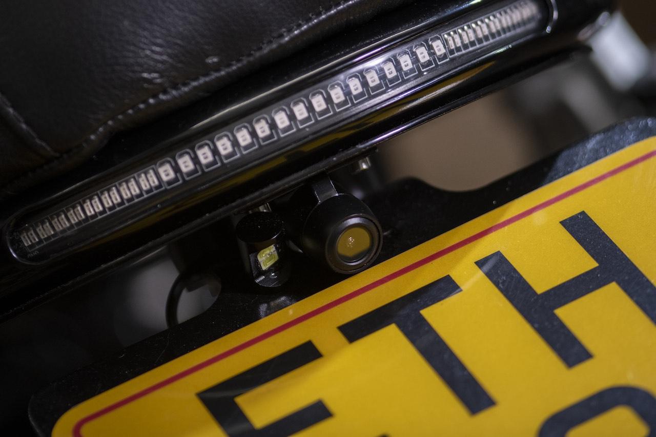CB750 Custom integrated taillight