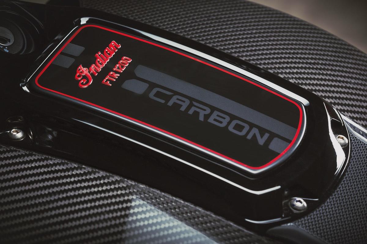 FTR 1200 Carbon Tank Badge