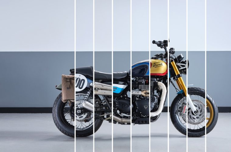 Triumph Bonneville Build-off Competition
