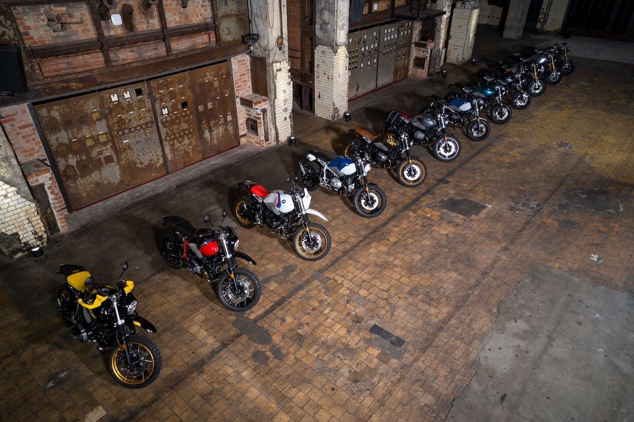 2021 BMW R nineT Models Line-up