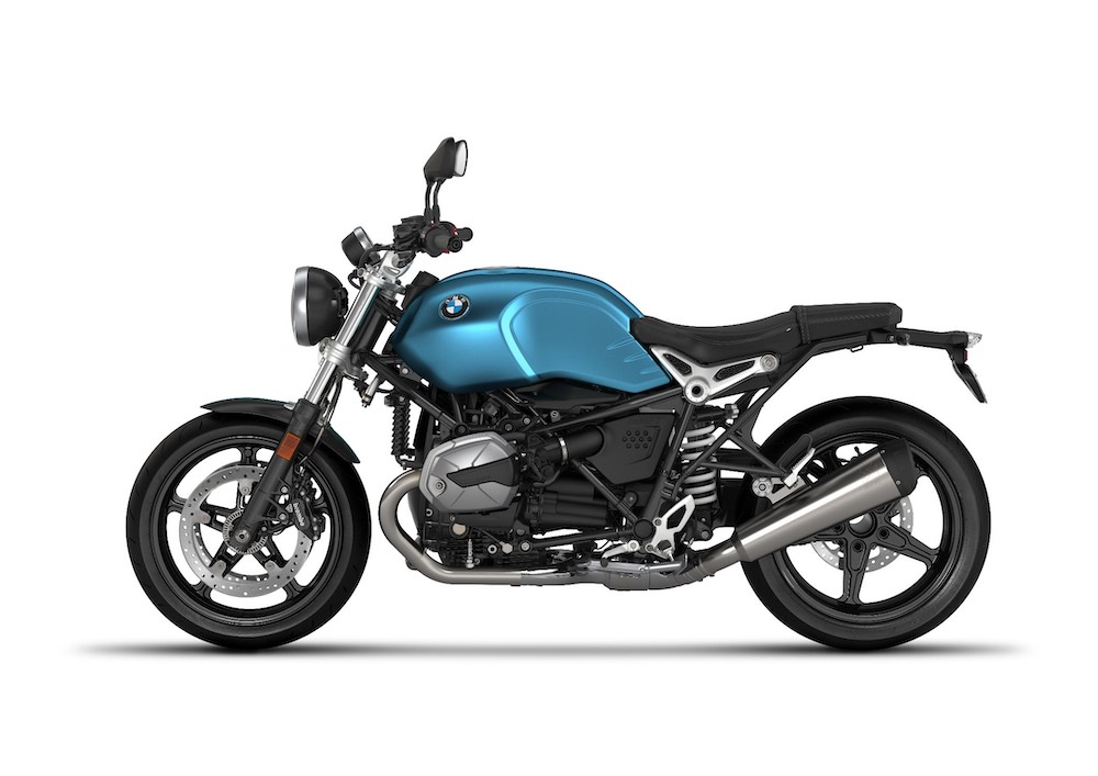 BMW R nineT Pure - Teal blue metallic matt
