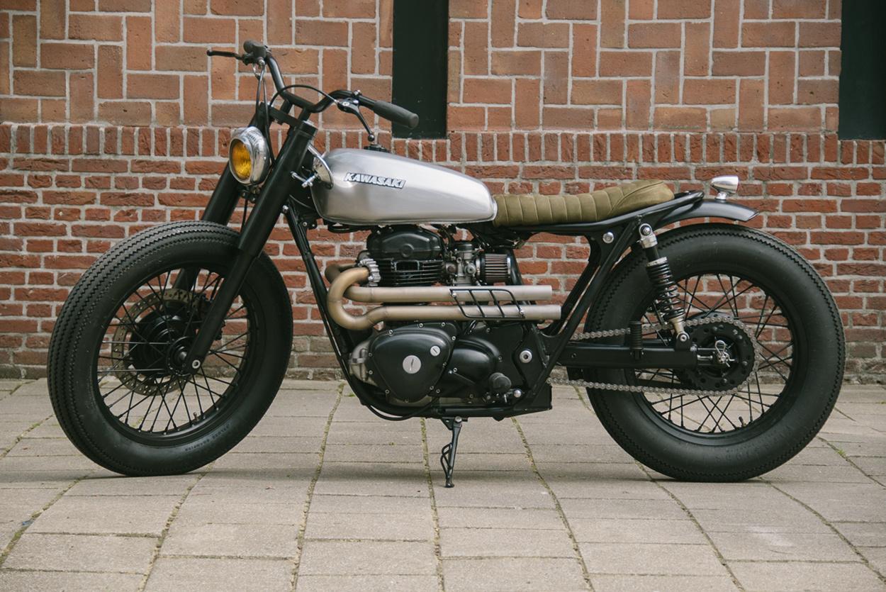 Kawasaki Bratstyle custom