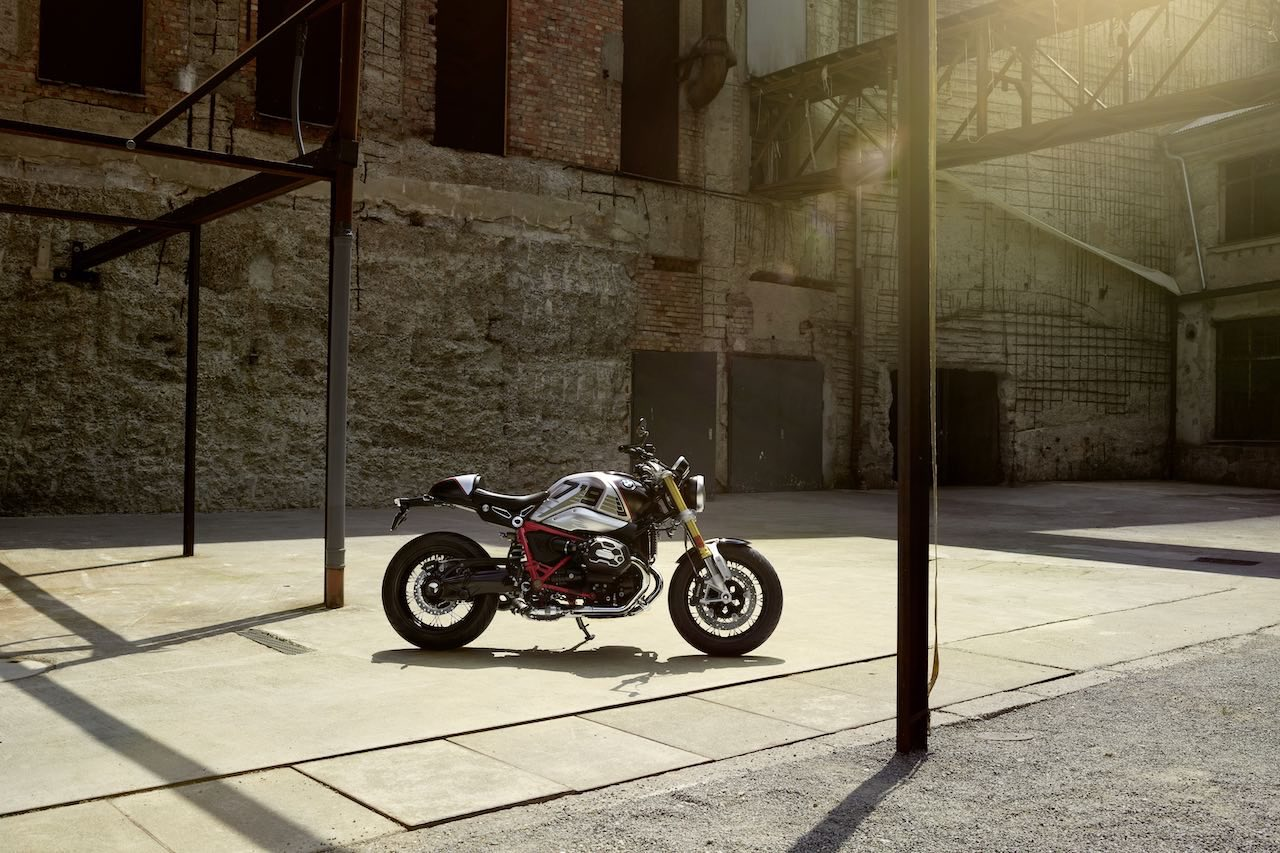 BMW R nineT - Option 719 Night black matt-Aluminium matt