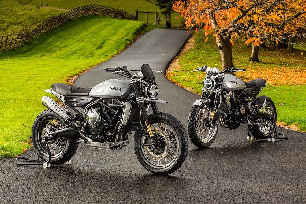 Norton Motorcycles Atlas 650cc Nomand and Ranger - autumn