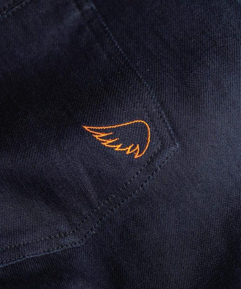 Saint Unbreakable Model 4 Jeans wing emblem