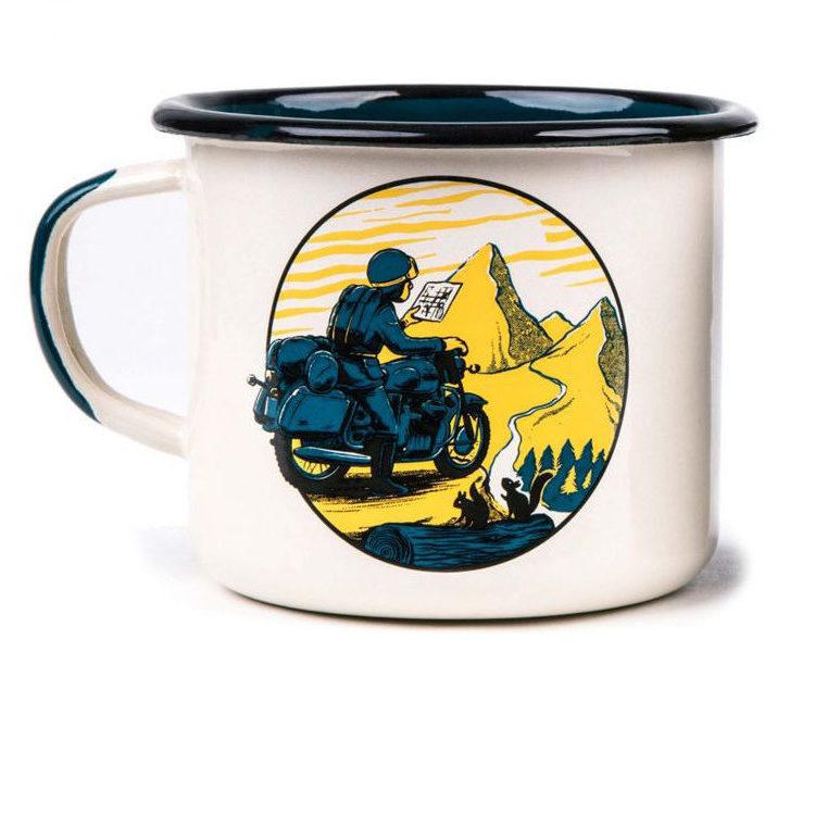 Urban Rider Enamel Mug