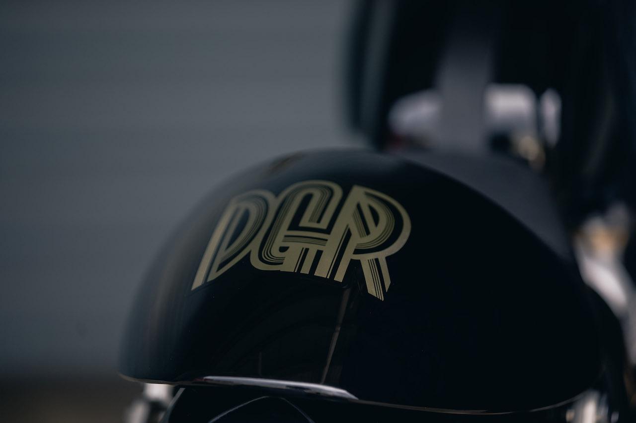 DGR 2021 Triumph Thruxton RS Painted Seat cowl