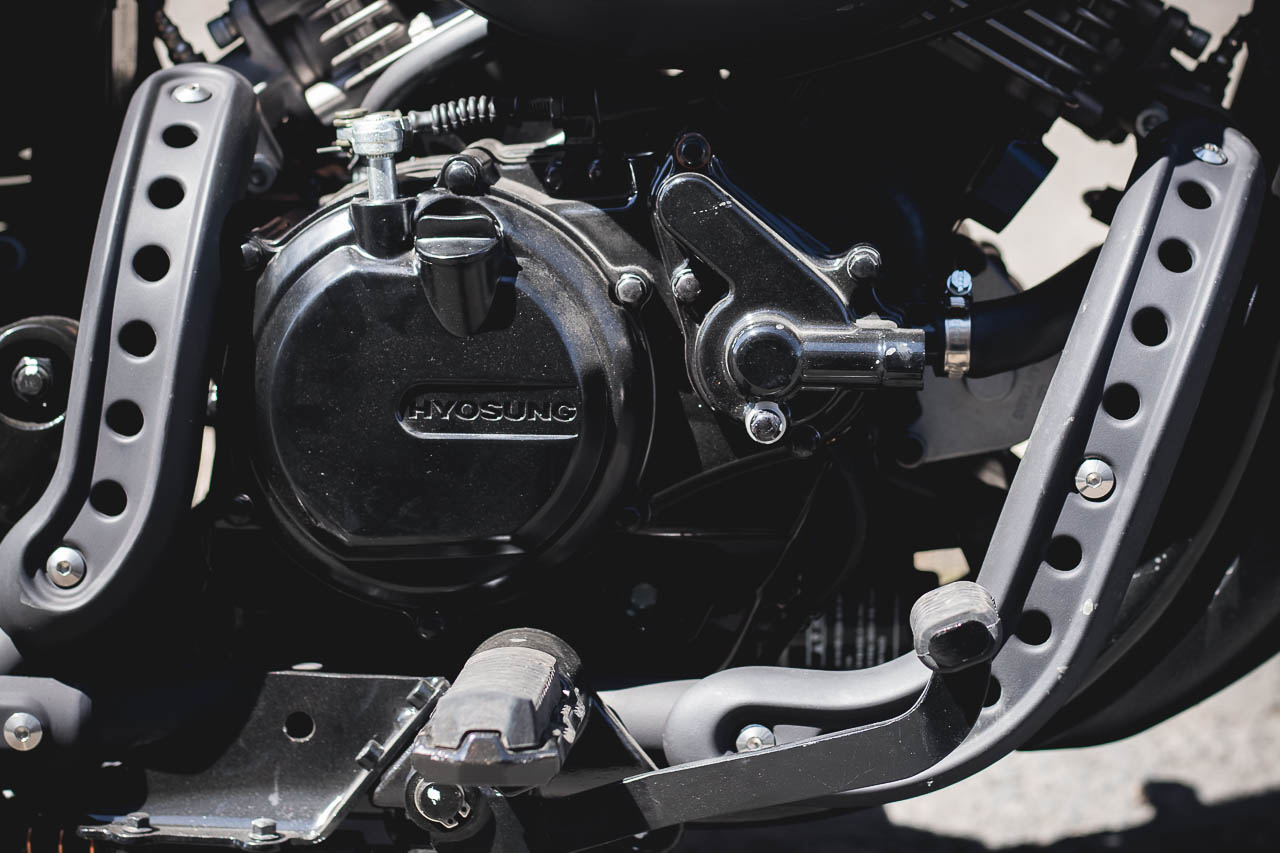 Header guards will prove useful in protecting the bike but look great . Image: Nate Kwarteng