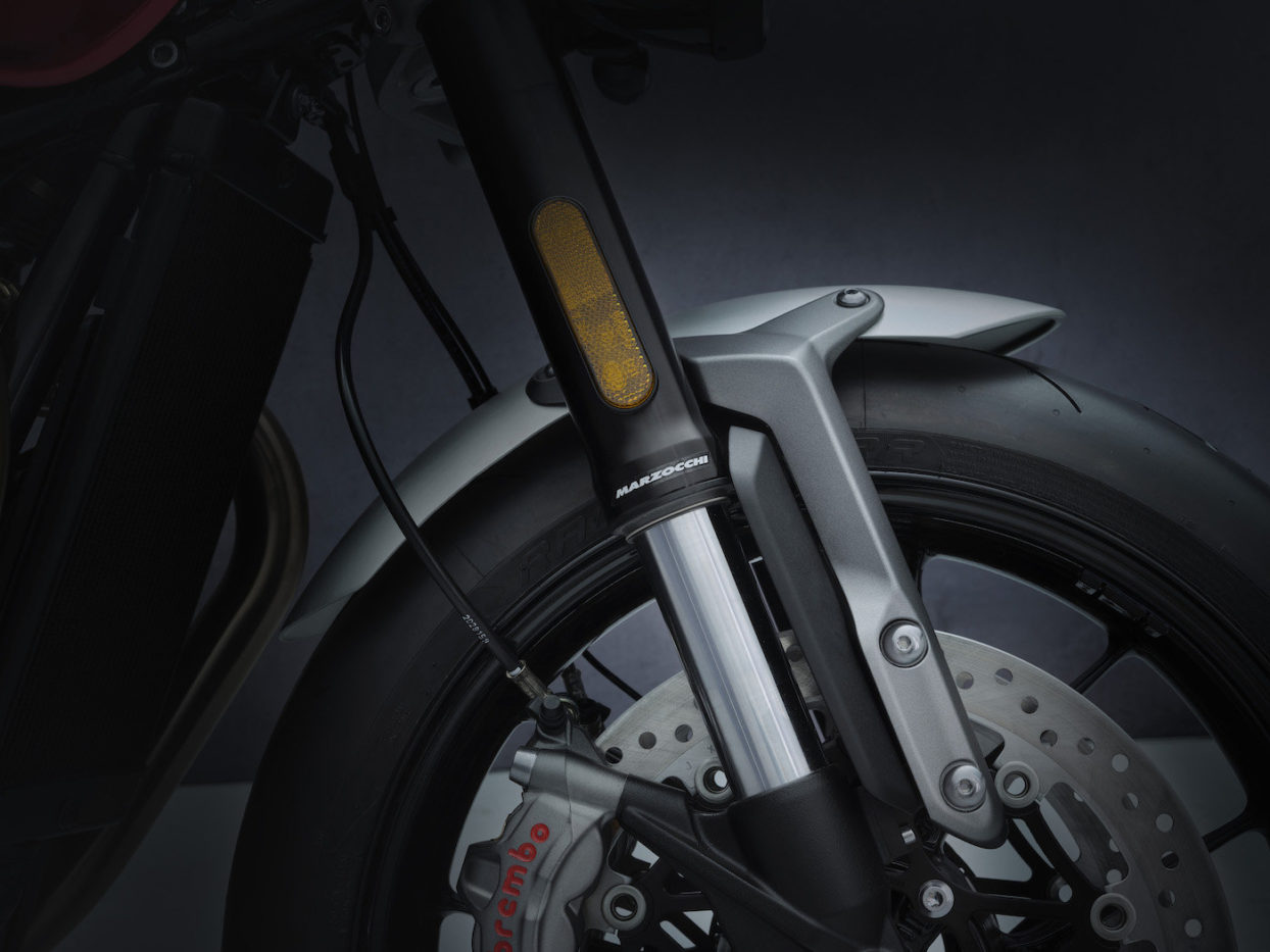 New Fork Guards Triumph Speed Twin 2021
