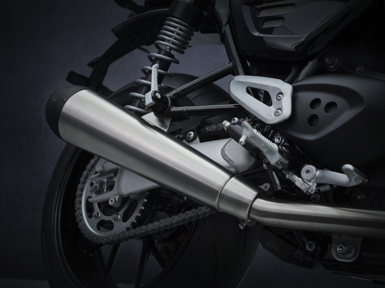 Triumph Speed Twin 2021 Exhaust