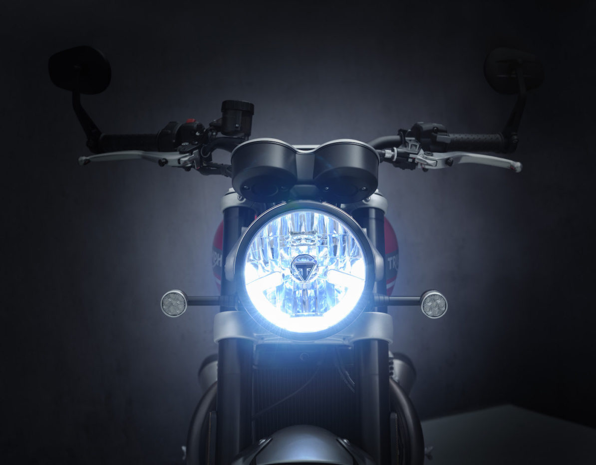 Headlight Triumph Speed Twin 2021