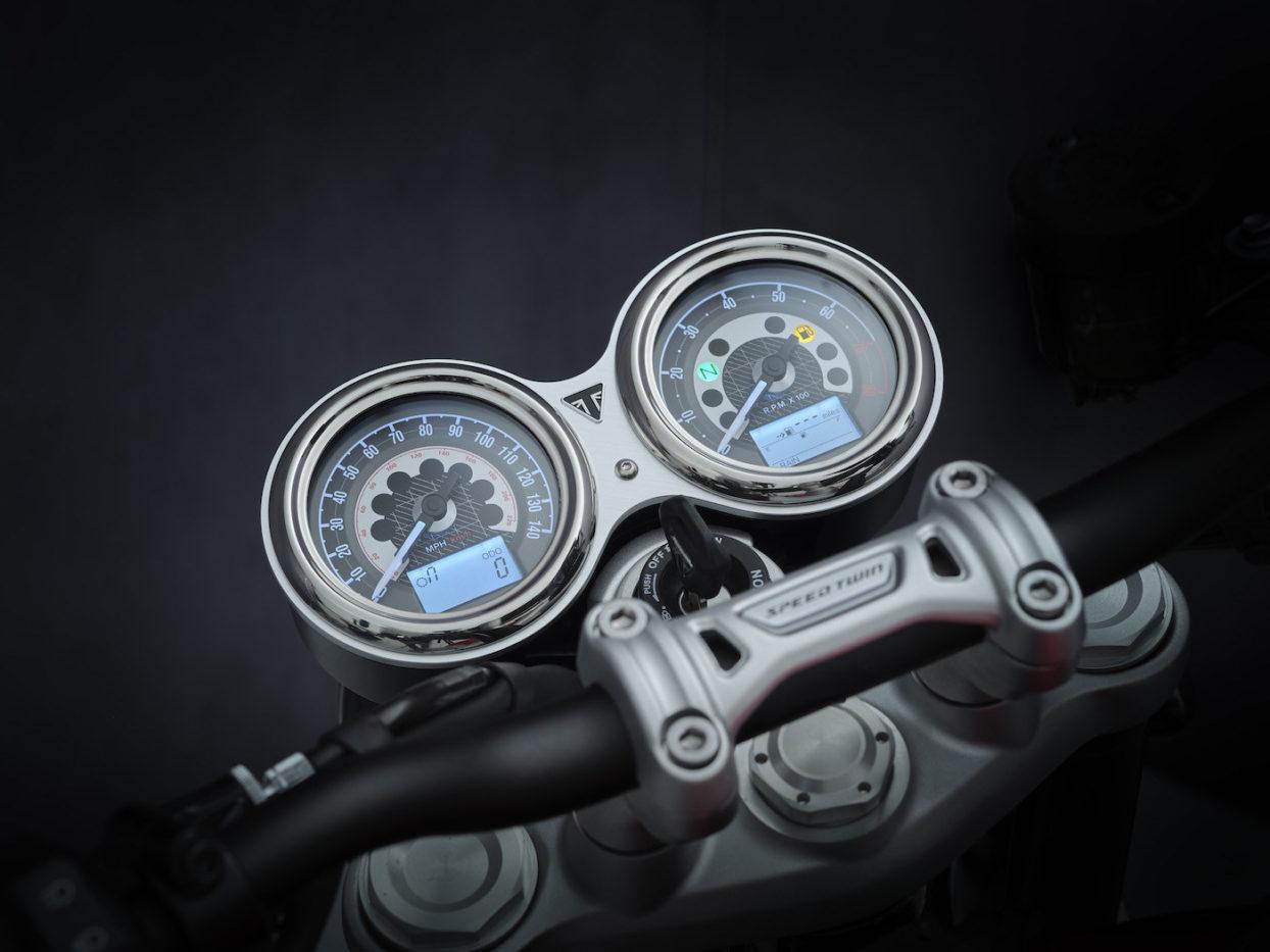 Instruments Dials Triumph Speed Twin 2021